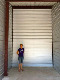 3D Storage Unit Size